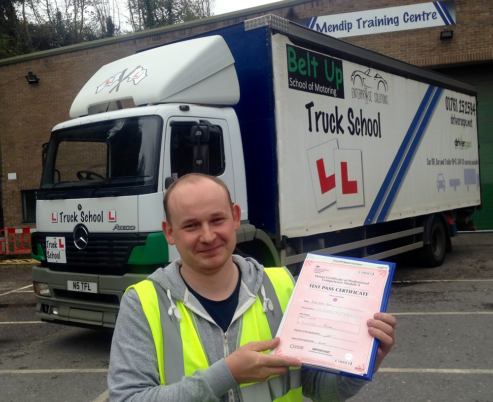 First TIME class 2 and FIRST TIME mod 4 CPC test pass with Truck School