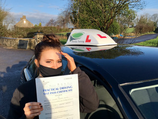 FIRST TIME car test pass for Imogen