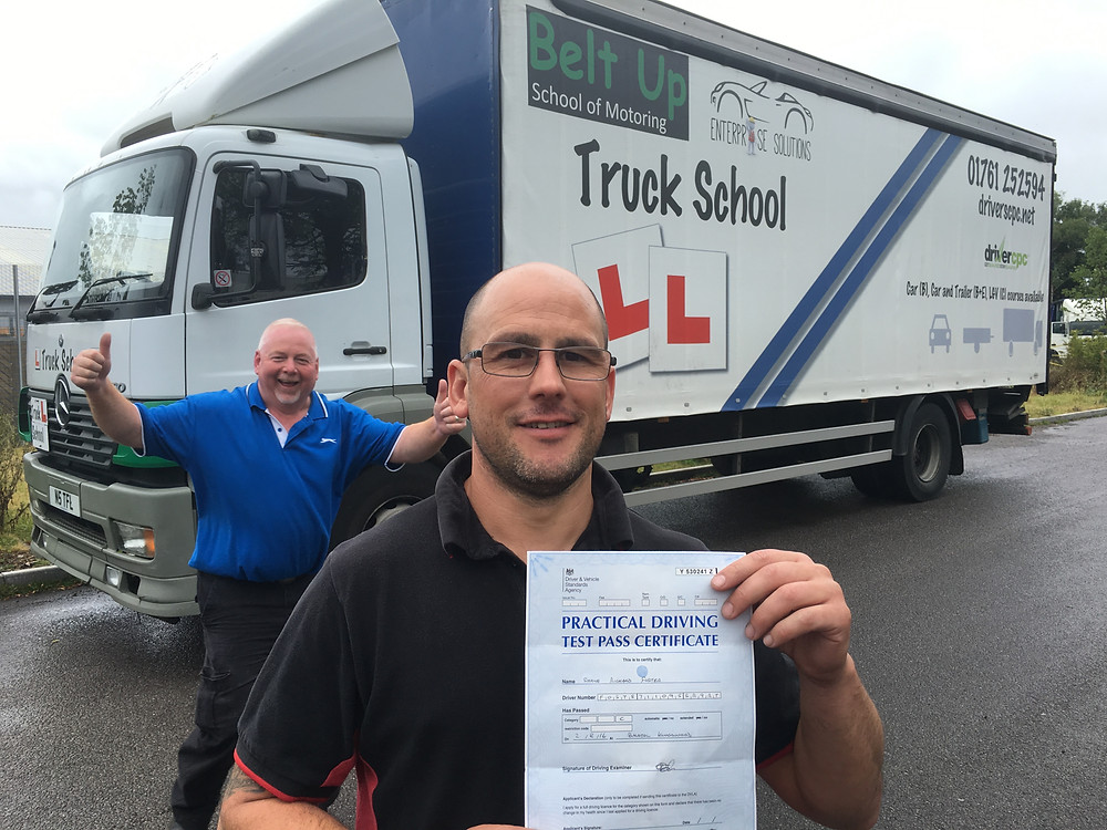 Shane passed FIRST TIME and Mike seems pleased.