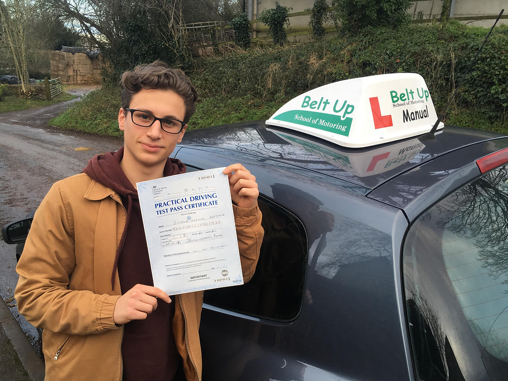 FIRST TIME driving test pass with Belt Up School of Motoring Ltd