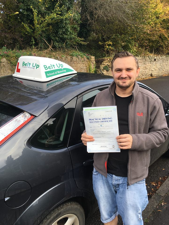 FIRST TIME Driving test pass with Belt Up School of Motoring