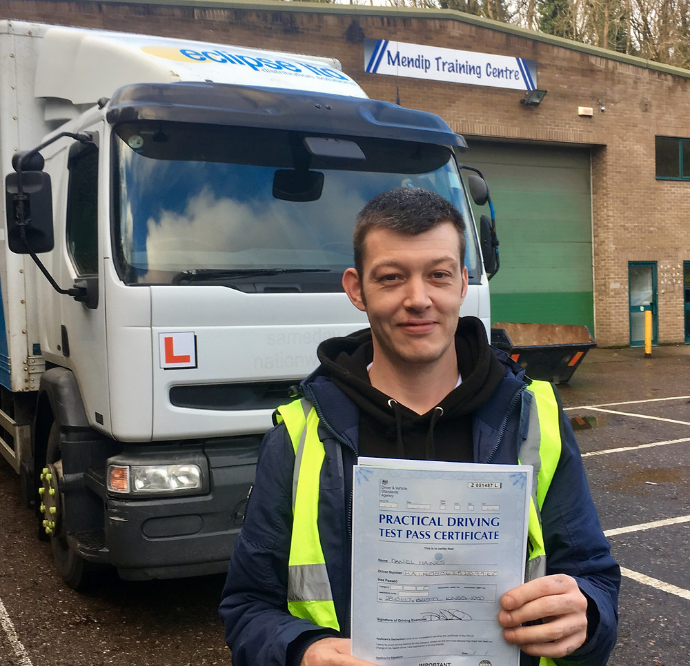 FIRST TIME calss 2 driving test pass with Truck School