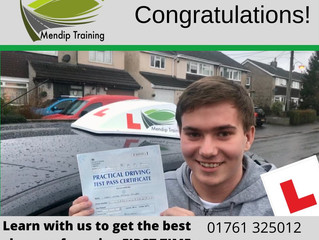 🔴 TEST PASS! 🔴  Harry Gilvray passed his driving test!