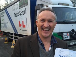 Brett Passes FIRST TIME in Swindon