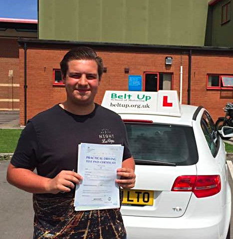 FIRST TIME car test pass from Belt Up School of Motoring