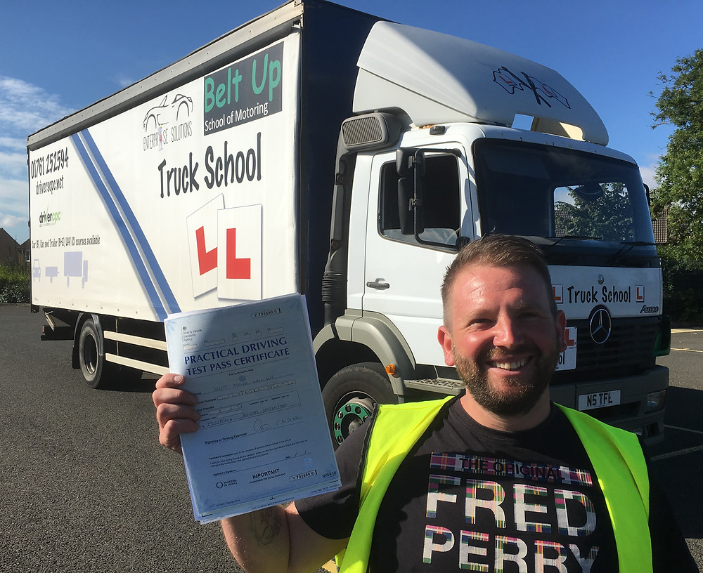 Scott nails his class 2 on bank holiday Monday