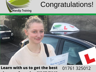 A FIRST TIME pass for Lauren Brown!