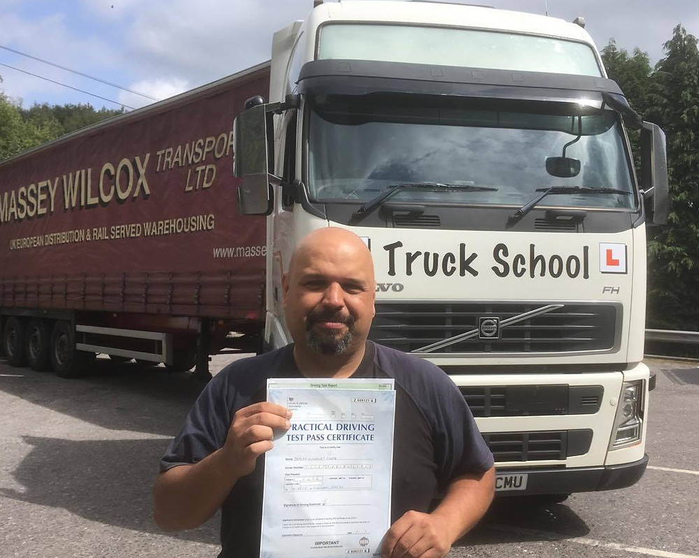 FIRST TIME class 1 test pass with Truck School