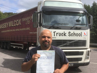 FIRST TIME class 1 test pass
