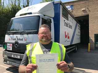 Another fantastic class 2 pass for Pete Heal