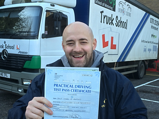 Dale passes his class 2 test