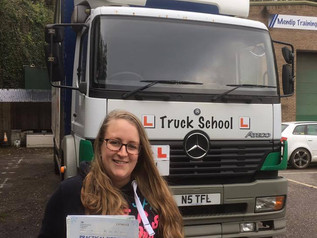 Emma passes her class 2 test