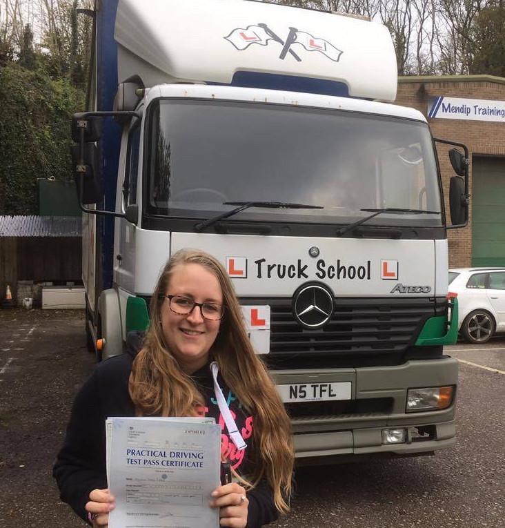 Class 2 test pass with Truck School