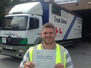 FIRST TIME pass for Gary