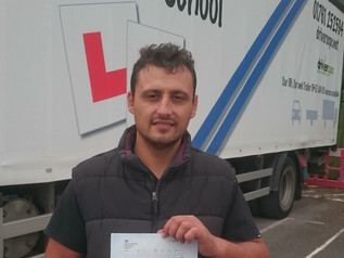Miltiadis and his FIRST TIME pass