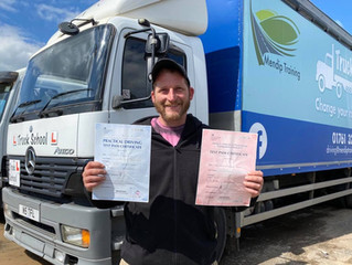 100% FIRST TIME pass for Rob Coles