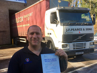 Another FIRST TIME class 1 test pass for Truck School