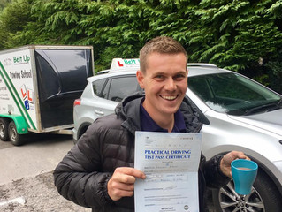 FIRST TIME car and trailer test pass