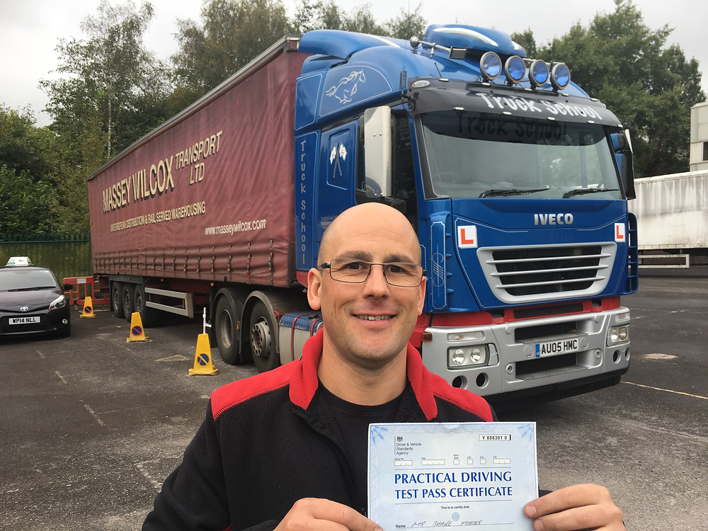FIRST TIME artic (Class 1) lorry test pass