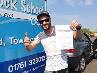 George Green passes his car and trailer test FIRST TIME