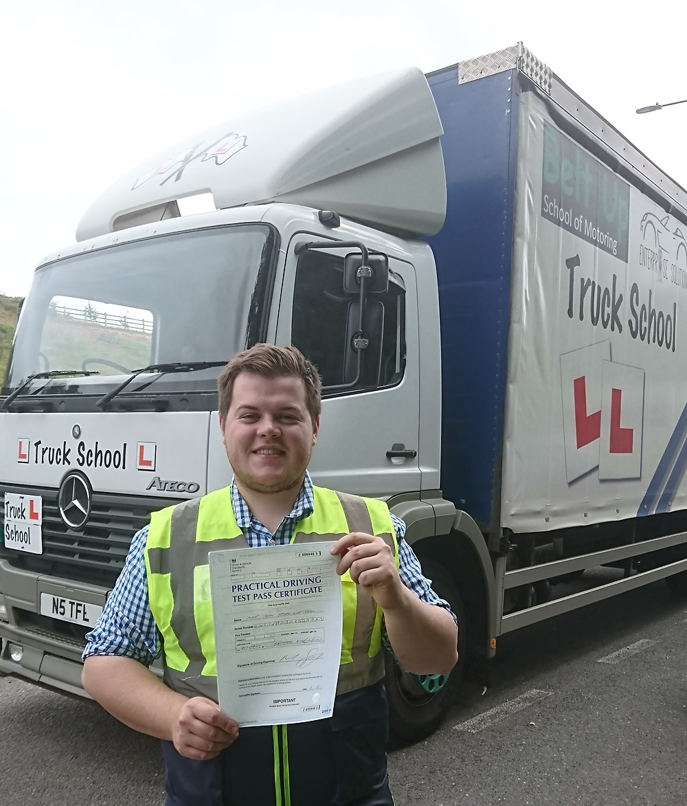 FIRST TIME test pass and Mod 4 CPC pass with Truck School