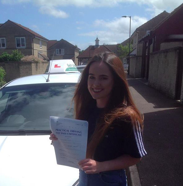 FIRST TIME pass from Belt Up School of Motoring