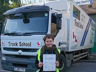 Funded Class 2 test pass for Seonaid