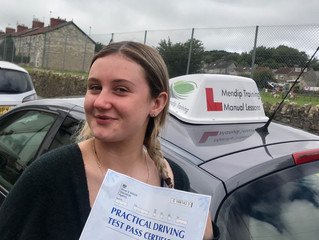 FIRST TIME test pass for Jess