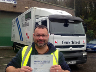 FIRST TIME class 2 test pass for Andrew