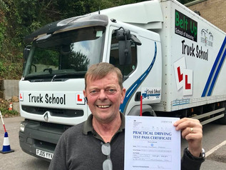 Congratulations to Trevor O'Brien on gaining your class 2 Licence