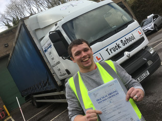 Class 2 test pass for Stephen Thorne