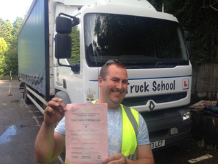 Ashley passes both mod 4 cpc and his class 2 FIRST TIME