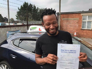 FIRST TIME car driving test pass for Ziggy Dawkins