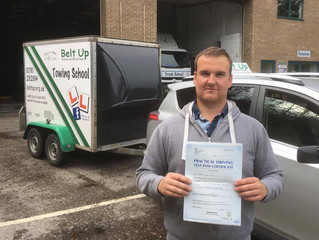 Joshua Day Passes His Trailer Test FIRST TIME