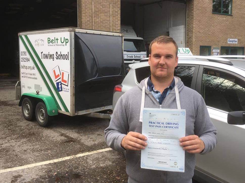 Joshua Day's FIRST TIME test pass