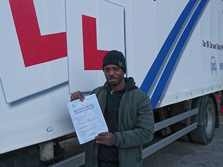 Tobias passes his class 2 FIRST TIME