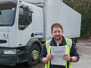 4th FIRST TIME test pass for the week with Truck School