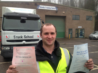 Tom passed class 2 AND mod 4 FIRST TIME