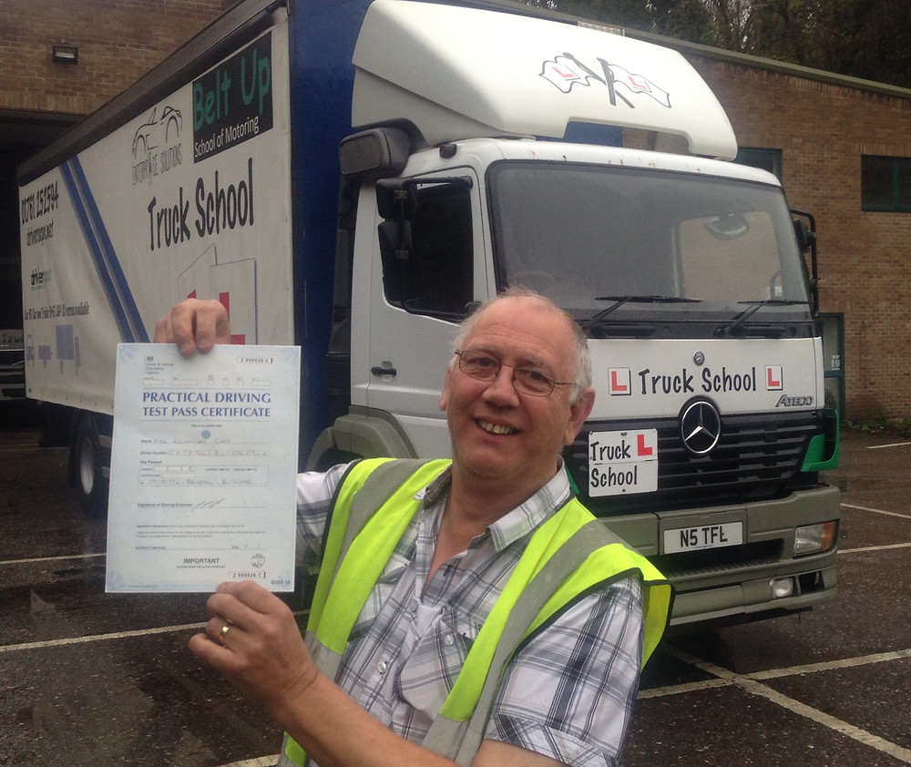 FIRST TIME class 2 test pass with Truck School