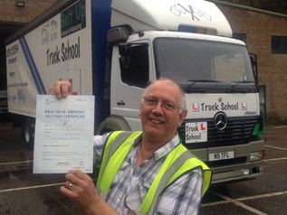 Nick Copp passes his HGV 2 FIRST TIME