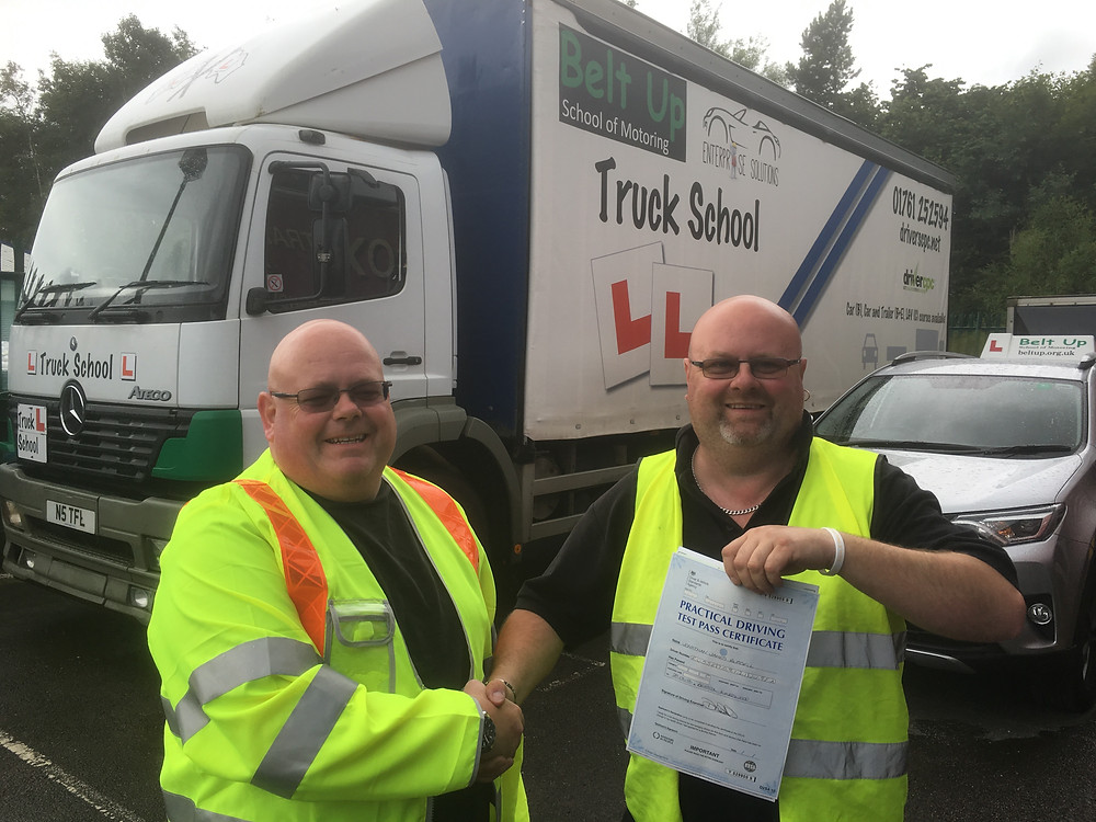 John Russell Passes FIRST TIME