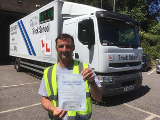 ***First Time*** class 2 pass for Anthony Squibbs