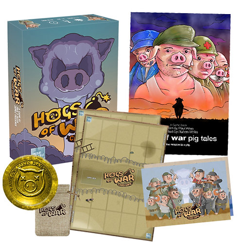 Hogs Of War The Card Game Deluxe Edition
