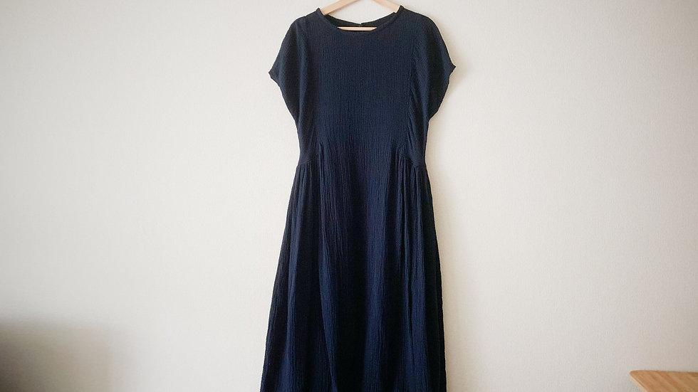 cotton gauze long dress