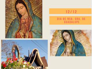 12 de dezembro Dia de Nossa Senhora de Guadalupe