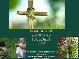 Domingo de Ramos na Catedral