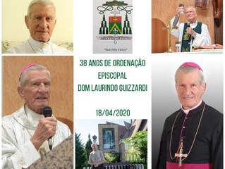 38 anos Ordenação Episcopal de Dom Laurindo