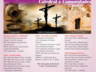 Programação Semana Santa Catedral