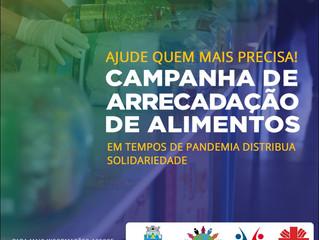 Prefeitura de Foz lança campanha para arrecadação de alimentos