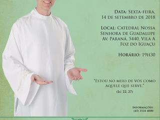 Ordenação Diaconal de Alberto Gasparrini